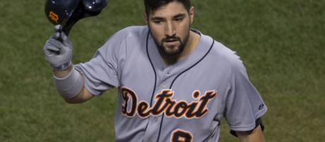 An image of Nicholas Castellanos. [image source: Keith Allison- Wikimedia Commons]