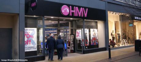 Anyone with HMV gift cards should cash them in now as the shops may close. [Image Mtaylor848/Wikimedia]