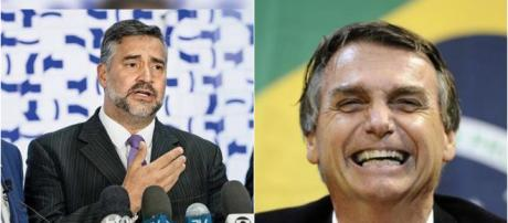 Paulo Pimenta acusa Bolsonaro e Moro (Reprodução PT / PSL)