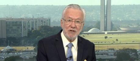 São várias as alegações sobre saída de Alexandre Garcia da Rede Globo (Reprodução TV Globo)