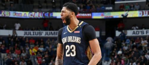 Anthony Davis brought 48 points in a Pelicans' win on December 28. [Image via NBA/YouTube screencap]