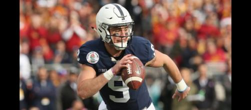 Trace McSorley will play his final game at Penn State on New Year's Day. [Image via College Films/YouTube]