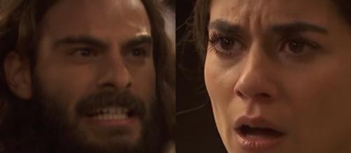 Trame Il Segreto: Isaac accusa Elsa di aver provocato l'aborto ad Antolina