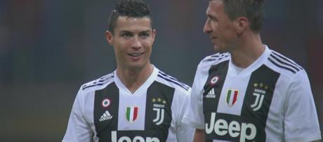 Cristiano Ronaldo e Mario Mandžukić