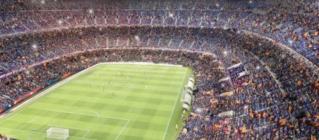 Idea to take a Catalans home game on the road to Barcelona is one that should be applauded. Image Source - stadiumdb.com