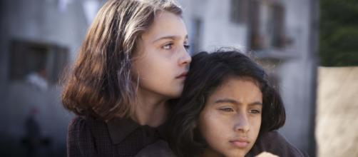 Elena e Lila, le due protagoniste de L'Amica geniale