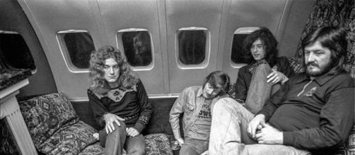 I Led Zeppelin a bordo dello Starship