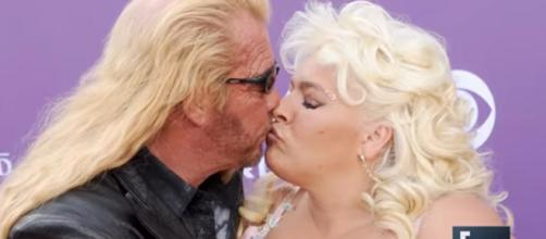 Star of Dog the Bounty Hunter, Beth Chapman, returned home to Colorado after cancer surgery. [Image Source: E! News - YouTube]