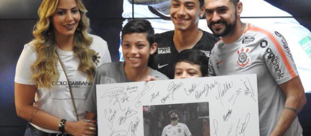 Danilo é um dos que não estará no Timão em 2019. (foto reprodução).