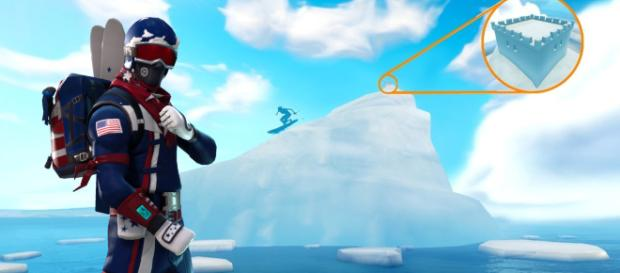 Skiing is coming to Fortnite Battle Royale. Image source: Own work