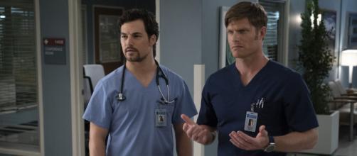 Grey's Anatomy 15x09: Meredith ancora tra Andrew e Link