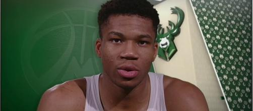 Giannis Antetokounmpo led the Bucks to victory against the Brooklyn Nets. [Image via ESPN/YouTube screencap]