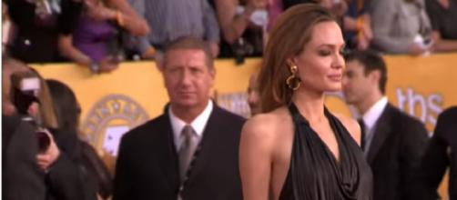 Is Angelina Jolie hinting about a future in politics? [Image source/E! News YouTube video]