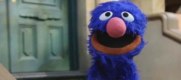 """Did Grover use a swear word on """"Sesame Street?"""" You decide for yourself. [Image TV News/YouTube]"""
