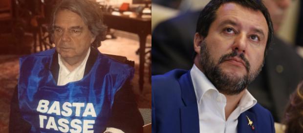Renato Brunetta attacca Matteo Salvini.