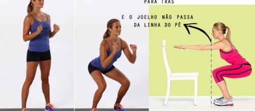 Agachamento: exercício que pode ser feito em casa ,via Dicas Perder Peso