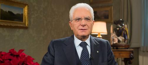Discorso di fine anno per il presidente della Repubblica Sergio Mattarella