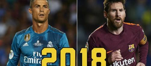 Messi, Ronaldo, los mejores goleadores del mundo
