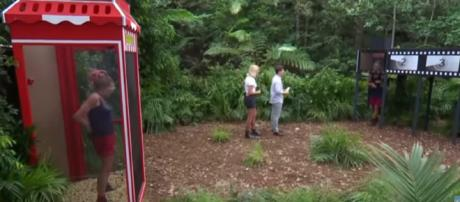 Rita and James try to earn meals in Stars of the Silver Scream (Image credit: I'm A Celebrity....Get Me Out Of Here!/ITV YouTube.com)