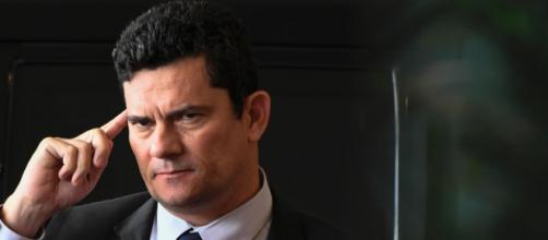 Lula faz parte do meu passado, diz Moro ao ser questionado sobre habeas corpus do petista. (foto reprodução).