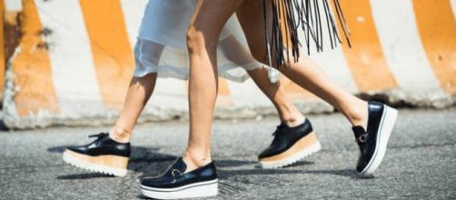 Modelos de sapatos Flatforms para 2019.