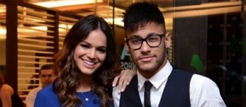 Recentemente Bruna e Neymar terminaram mais uma vez o relacionamento