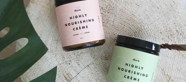 Deew Beauty and Wellness uses hemp in their cremes. / Image via Kelly Turner, used with permission.