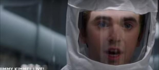 Dr. Murphy has to cope with distraction beyond a deadly virus on The Good Doctor winter finale. [Image source:TVPromos-YouTube]