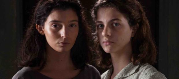 Lila ed Elena de L'Amica geniale