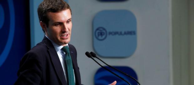 Pablo Casado, el presidente popular está dispuesto a ceder consejerías a VOX y a Ciudadanos.