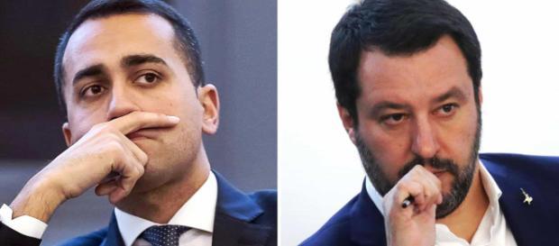 I due Vicepresidenti del Consiglio Luigi DI Maio e Matteo Salvini