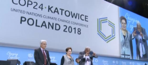 Reducing greenhouse emissions, aid for developing countries on COP24 agenda. [Image source/Hindustan Times YouTube video]