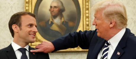 Donald Trump ironique envers Emmanuel Macron sur les gilets jaunes