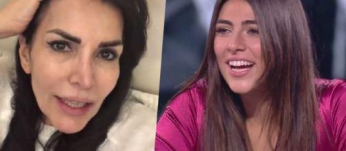 Giulia Salemi arrabbiatissima con la madre dopo l'eliminazione