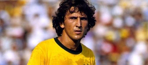 Zico, grande craque, mas que não teve sorte nas Copas que disputou. (foto reprodução).