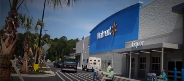 A new shopping experience at Walmart. [Image source/USA Today YouTube video]