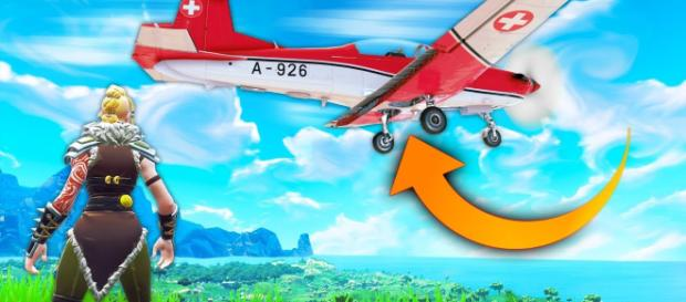 Airplane is coming to Fortnite. Image: Fortnite SparkTV / YouTube