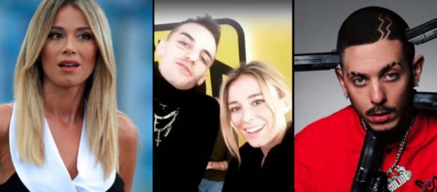 Diletta Leotta, Achille Lauro e Enzo Dng