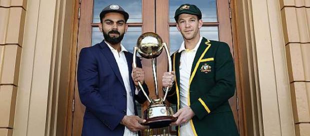 India vs Australia 1st Test live streaming on Sony Six (Image via BCCI/Twitter)