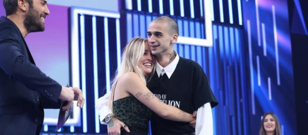 María y Pablo, el pasado miércoles en el plató de 'OT'. / RTVE.es