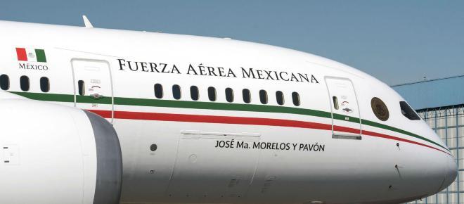 López Obrador anunció la venta del avión presidencial de México