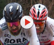 Peter Sagan impegnato alla Parigi Roubaix