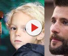 Testes de DNA comprovaram que Neymar é pai de Davi; já Gagliasso não seria pai do filho de Carol Francishinni. (Foto/Reprodução).