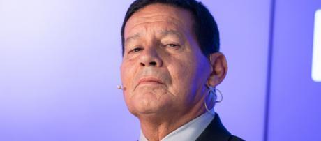 Futuro vice-presidente, General Hamilton Mourão. (foto reprodução).