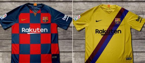 diseños de las equipaciones del Barcelona para la campaña 2019/20