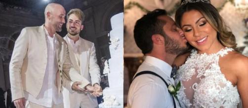 Famosos LGBT que se casaram em 2018 em cerimônias muito badaladas (Reprodução Instagram)
