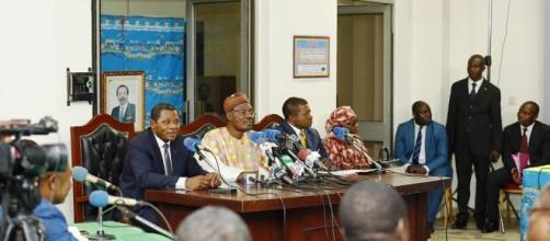 Le Mincom, le Minat et le Minstransport (c) Cameroon Tribune