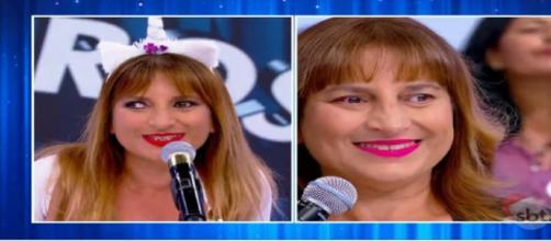Silvio Santos presenteou Adriana Biacchi com cirurgia de correção do estrabismo, que custou mais de R$ 30 mil. (Reprodução/SBT)
