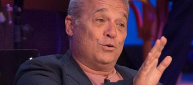 Claudio Amendola 'nero a metà'
