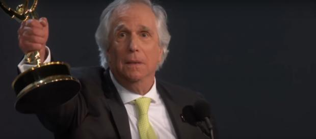 Henry Winkler already has an Emmy for Barry, now he's nominated for a Golden Globe, [Image source: Television Academy- YouTube]